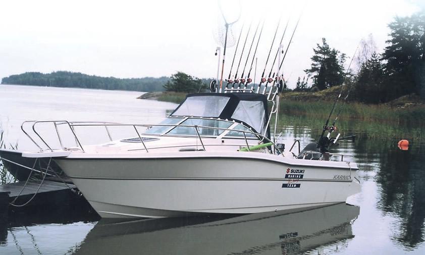 Катер Quot Karnic 2250 Quot готов к рыбалке картинка из статьи