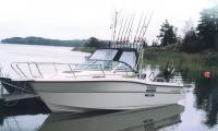 Катер Karnic-2250 готов к рыбалке