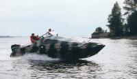 Катер КС-700 на ходу