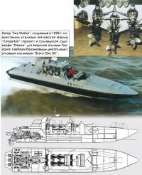 """Катер """"Sea Stalker""""', созданный в 1998 г."""