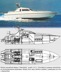 """Катера итальянской фирмы """"Intermarine"""" длиной 16.5 м"""