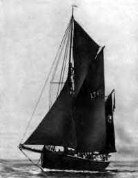 Кеч «Ексельсиор» под парусами