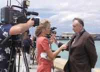 Кеннет Крачлоу — руководитель спасательной операции. 16 апреля 2000 г.