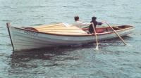 Кижанка «Федорыч» и на ходовых испытаниях на веслах
