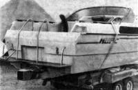 Комфортабельный водометный катер кооператива «Курс» (Ленинград)