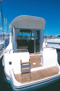 "Корма катера ""Ocqueteau-760"""