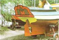 Корма яхты