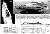 Крупнейшее однокорпусное водометное судно-паром типа