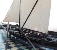 Лодка-верейка, вид сзади