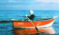 Лодка «Бриз-26» с одним человеком