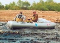 Лодка «Фрегат R-280» на воде
