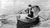 Лодка «Иня» на воде