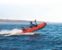Лодка «Танго-360» выпрыгивает из воды