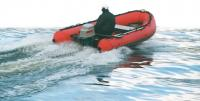 Лодка «Танго-420» на ходу под мотором