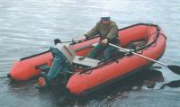 Лодка «Танго-420» с веслами