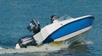 Лодка Викинг на ходу