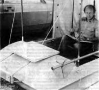 Лодка «Витязь» на берегу