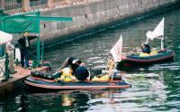 "Лодки ""Roger 570"" и ""Komandor 470"" в черте города"