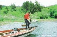 Ловля окуня с оснащенной лодки