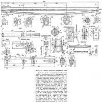 Мачта, гик и детали парусного вооружения яхты