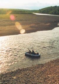 Малая осадка позволяет плавать на мелководье