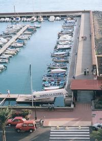 Марина в порту Сан-Себастьян
