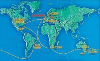 Маршрут гонки «Volvo Ocean Race 2001—2002»