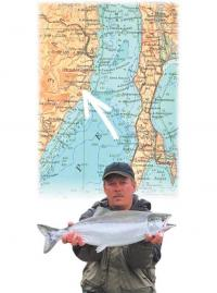 Место на карте нашей рыбалки
