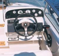 "Место водителя катера ""Nidelv 610 Sport"""