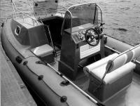 """Место водителя лодки """"Кальмар-Компакт"""""""