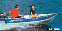 Металлическая лодка чешской фирмы