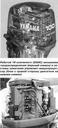 Микропроцессор (блок с правой стороны двигателя)