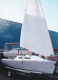 Микротонник яхта