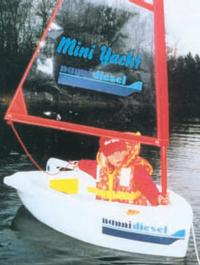 Мини-яхта фирмы «Nanni Diesel»