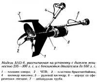 Модель ASD-6, рассчитанная на установку с дизелем и бензиновым двигателем