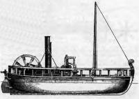 Модель парохода «Шарлотта Дундас»