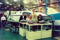 Модели и полноразмерные катера на выставке