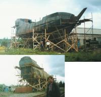 """Моменты постройки стального корпуса """"Орла"""""""