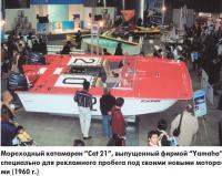 """Мореходный катамаран """"Cat 21"""", выпущенный фирмой """"Yamaha"""""""