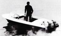 Мотолодка Блик с двумя моторами Вихрь