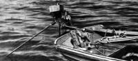 Мотор на транце лодки