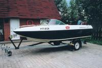 "Моторная лодка ""Crosswind 160"" на трейлере"