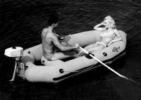 Моторная надувная лодка Язь-4
