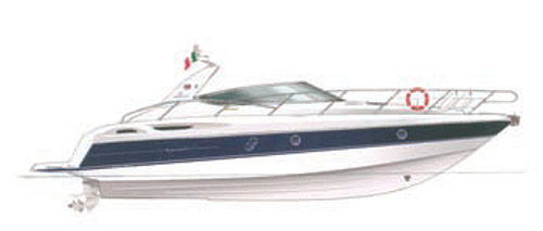 Моторная яхта «Endurance 41»