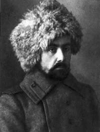 Н. Ю. Людевиг — солдат. Фото 1914-1915 гг.