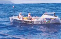 На финише — новозеландский женский экипаж (4-е место)