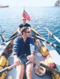На лодке №12. Так аккуратно все выглядело в начале долгого пути