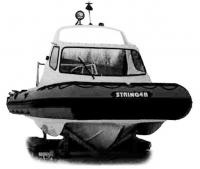 Нижняя часть лодки «Стрингер-550»