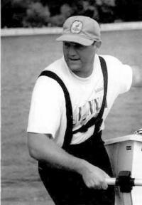 Новозеландский яхтсмен Крейг Монк