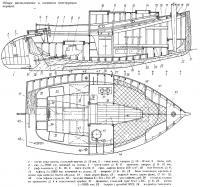 Общее расположение и элементы конструкции корпуса